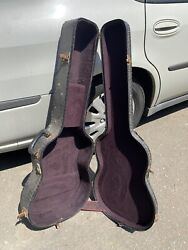 Vintage 1950-1953 Ess And Ess Acoustic Guitar Case Martin Gibson Guild Gretsch