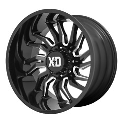 Xd Series Xd858 Tension 22x12 -44 Candy Red Milled Wheel 6x135 Qty 4