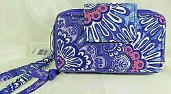 Vera Bradley#x27;s SMARTPHONE WRISTLET for iPHONE in LILAC TAPESTRY Purple NWT $39.99