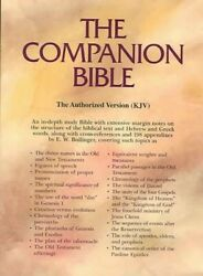 Companion Bible Blackgen Leather/th Indexed Genuine Leather 9780825422409