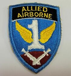 From Collection Of Wwii To Present 1st Us Army Allied Airborne Paratrooper Patch