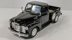 Welly 1953 Chevrolet 3100 Pickup Black 124 Scale Diecast - No Box