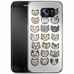 Galaxy S7 Edge - 28 Cats By Caseable Designs Silicone Phone Case