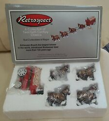 Retrospect Bud Clydesdale And Wagon Midwest Cannon Falls Anheuser Busch Budweiser