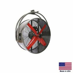 Circulation Fan Ceiling Mounted - 36 - 1/2 Hp - 230/460v - 3 Phase - 12100 Cfm