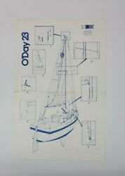 Original Early 1980s Oand039day 23 Operating And Rigging Instructions + Bonus