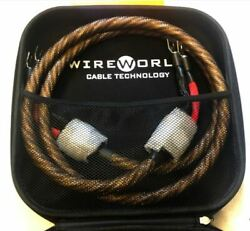 Wireworld Eclipse 8 Speaker Cables 2.5m In Length Spade On Both Ends