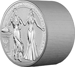 2020 Germania Mint Allegories 10 Oz Coin - Mintage Only 250