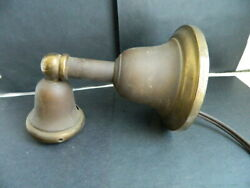 Antique/vintage Brass Wall Light With Socket