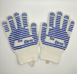 One Pair Oven Gloves Grill Glove Oven Mitts Heat Resistant Up To 540anddeg F Gift