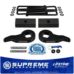 Up To 2.5 Front + 1 Rear Lift For 03-18 Express Savana Awd 9/16 Square U-bolts