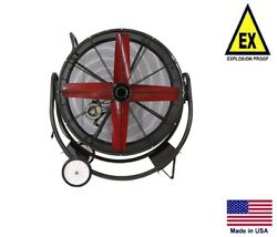 Drum Fan Explosion Proof - Dolly Mounted - 42 - 1/2 Hp - 230/460v - 14,445 Cfm