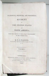 David Baillie Warden / Statistical Political And Historical Account 1st Ed 1819