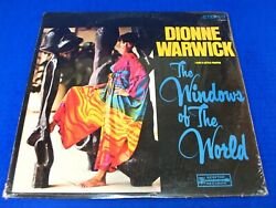 Dionne Warwick Andlrm- The Windows Of The World - 1967 Soul Lp Scepter Sps 563 Sealed