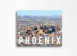 Phoenix   30x40in  Downtown Skyline Canvas Wall Art Home Decor Great For Kitch