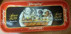 Vintage Yuengling Puppies Metal Tin Beer Serving Tray Limited Collector Series