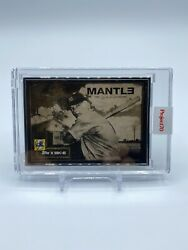 Topps Project70 - 1952 Mickey Mantle By Dj Skee - Artist Proof To 51
