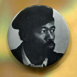 1968 Eldridge Cleaver Black Panthers Peace amp; Freedom Party For President Pin