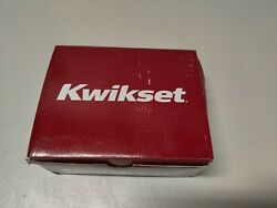 Kwikset 91550-002 Halifax Slim Square Privacy Bed/bath Lever In Polished Chrome