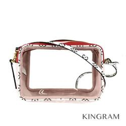 LOUIS VUITTON Monogram Giant Beach Pouch M67601 Rouge Cross Body Bag from Japan $903.00