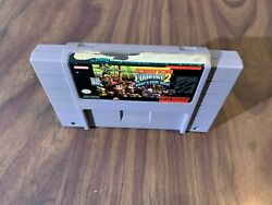 Donkey Kong Country 2 Super Nintendo Snes Authentic Not For Resale Back Label