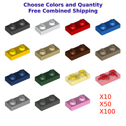 Lego 1 X 2 Plate 3023 You Choose Color And Quantity - New