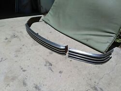 1946-1947-1948 Nash 3-piece Grill, Nice Original Stainless 46-47-48 Grille