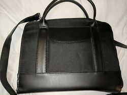 Black Leather tote for Bible or Tablet or Kindle or small computer $18.50