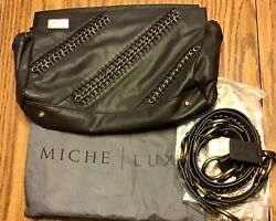 Brown Miche Luxe Sedona Shell For Classic Purse And Straps Handles Storage Bag New