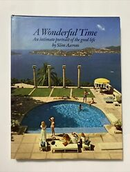 A Wonderful Time An Intimate Portrait Of The Good Life By Slim Aarons First Ed.andnbsp