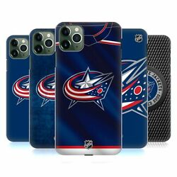 Official Nhl Columbus Blue Jackets Hard Back Case For Apple Iphone Phones