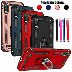 For Lg K22/k22 Plus/k32 Casering Kickstand Shockproof Rugged Impact Phone Cover