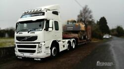 To Fit Volvo Fm Series 2 And 3 Globetrotter Standard Roof Bar + Jumbo Led Spot+led