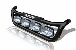 To Fit Volvo Fh Series 2 And 3 Black Grill Bar C + Led Spots + Step Pad + Leds