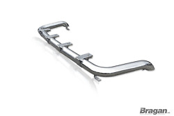 To Fit 2003-2010 Vauxhall Opel Movano Van Stainless Vertically Mounted Roof Bar
