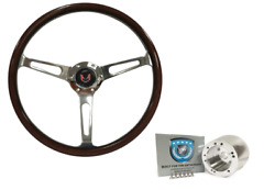 15 Classic Espresso Stained Wood Steering Wheel Kit 1969-1989 Firebird/trans Am