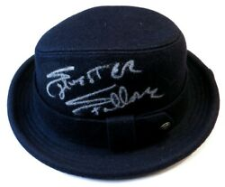 Sylvester Stallone Signed Autographed Fedora Hat Official Rocky Jsa Bb94284