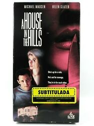 A House In The Hills Vhs 1993 Spanish Subtitles Michael Madsen Helen Slater