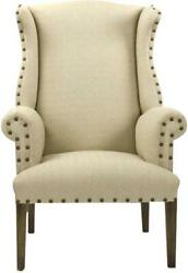 Wingback Chair Wing Hardwood Maple