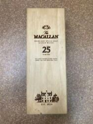 Macallan 25 Years Empty Box Only Whisky Scotland Bottle