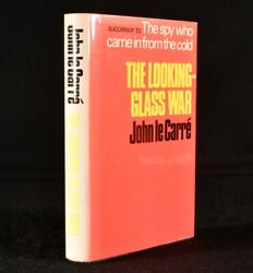 1965 The Looking Glass War 1st Edition Signed John Le Carre Spy Novel Thriller
