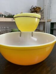 Vintage Pyrex Pineapple Chip And Dip