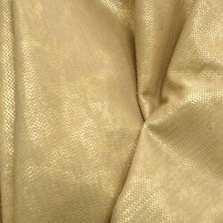 Fashion Leather Cow Hide 19 Sq Ft Antique Fair Gold 1 1/2-2 Oz Embossed
