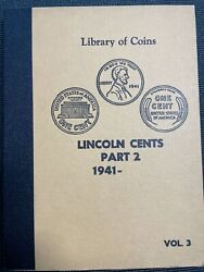 Library Of Coins Lincoln Cent Album Part 2 1941-1964