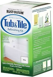 Rust-oleum® Specialty White Tub And Tile Refinishing Kit - 1 Qt