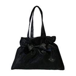 Black Evening Clutch Bags with Lace Tulle and Bow AU $25.00