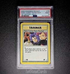 1st Edition Here Comes Team Rocket 15/82 Holo 2000 Pokemon Cards Mint Psa 9