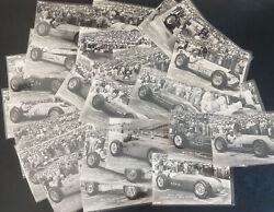 Mint Indy 500 Real Photo Postcard 33 Starters 1957 Indianapolis Motos Speedway