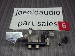 Technics Sl-q300 Turntable Rca Jack Plugs And Shield. Tested. Parting Out Sl-q300.