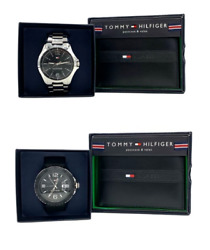 Black Wallet And Watch Combo 1791460 And 1791203
